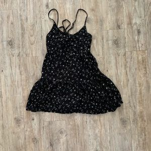 Urban Outfitters Sun Dress w/ Lace Up Back